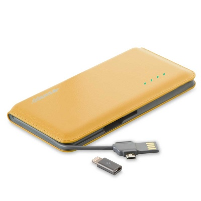 S-link Swapp IP-S55 6500mAh Super Slim Gold Sony Polymer Battery Powerbank
